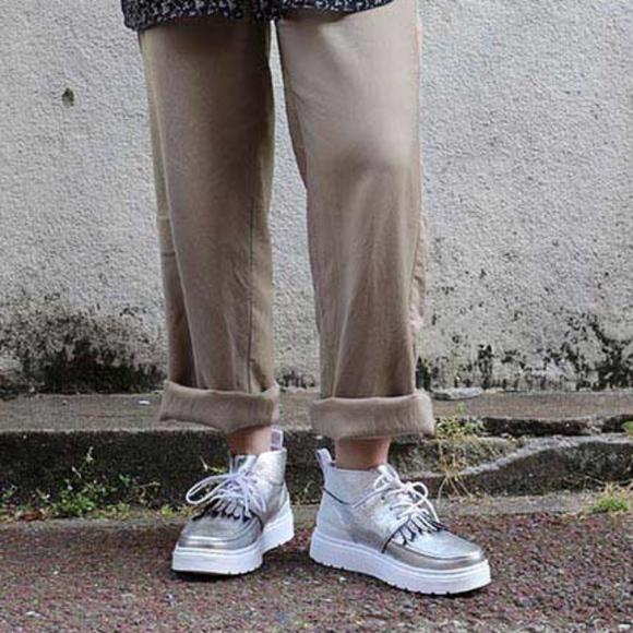 Gutscheincode doppelter gutschein unverwechselbares Design Dr. Martens   Jemima Chukka Boot Silver Size 8